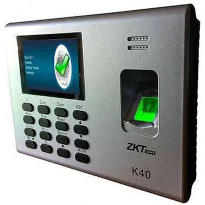 K40 time and attendance terminal image 2