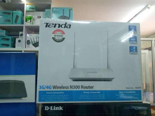 Tenda N300 Wireless Wi-Fi Router image 1