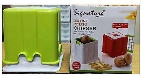 2 in 1 potato chipper image 1