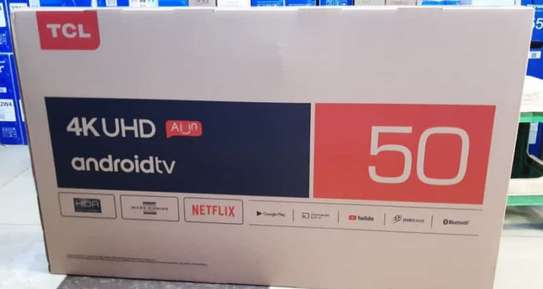 TCL 50 Inch 4K QUHD ANDROID AI SMART - 50P8S image 1