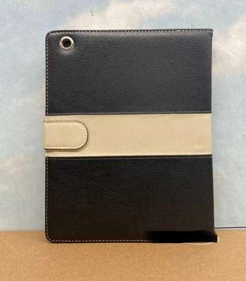 Leather Apple Logo Book Cover Case With In-Pouch For Apple iPad Air 1 9.7 inches image 7