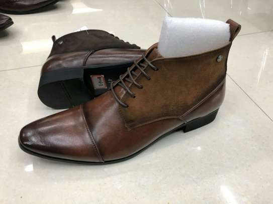 Casual Official Leather Boots image 1