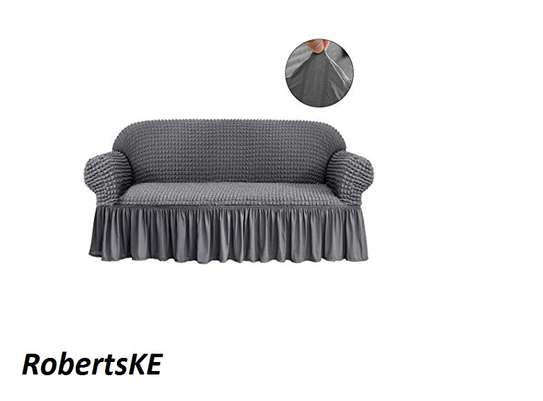 SOFA COVER 7 SITTER GREY image 2