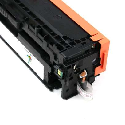 125A yellow cartridge CB542A printer number HP Color LaserJet CP1515n/CP1518ni and HP Color LaserJet CP1215 and HP LaserJet P1505 Printer series; and HP Color LaserJet CM 1312MFP and HP LaserJet M1522MFP and HP LaserJet M1120MFP. image 5