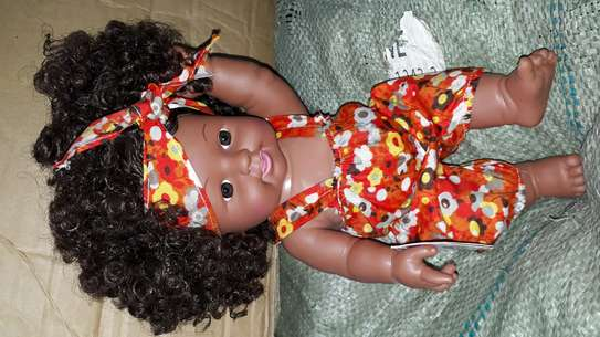Africa kids doll/baby doll/baby/artificial baby image 2