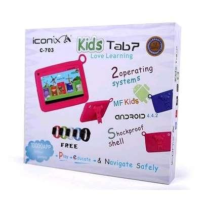 Iconix kids tabletDual Core, 8GB ROM, 512mb RAM, 0.3PM Camera 7 Display, Wi-Fi image 3