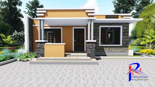 2 bedroom modern bungalow image 1