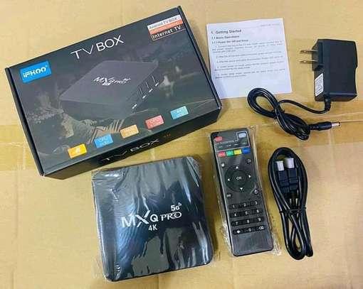 Mxq pro 4k tv Android box plus mini wireless keyboard image 2