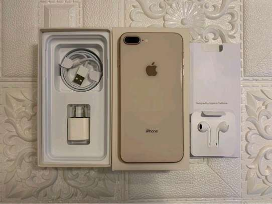 Apple Iphone 8 Plus The 256 Gigabytes Gold Colour image 1
