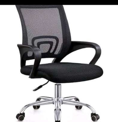 Office desk with headrestchair image 2