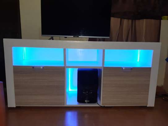 TV stand with LED image 5