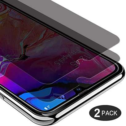 5D Privacy Glass protector for Samsung A70 A60 A50 A40 A30 A20 A10 image 2
