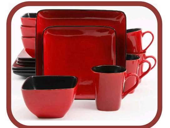 Ceramic dinner set image 2