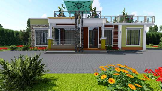 4 bedroom flat roof. With resting place image 1