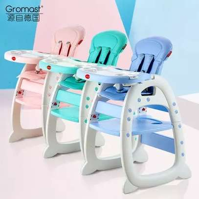 3-in-1 Baby Dining Chair Seat Multifunctional Child Seat Children Eating Table Chair Infant Feeding Chair image 2