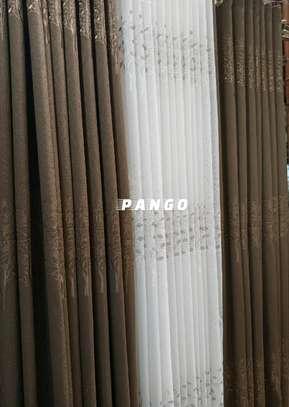Elegant chocolate brown Curtains image 1