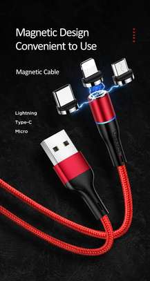 USAMS U32 Lightning Aluminum Alloy Magnetic Charging And Data Cable 1m image 4