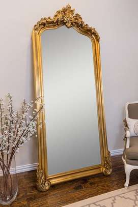 Antique 7foot mirrors image 2