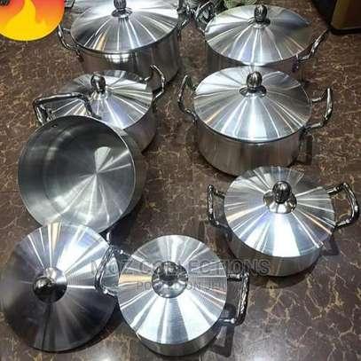 14 Piece Aluminum Cookware Set image 1