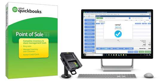 Quickbooks Point Of Sale - POS System Software image 1