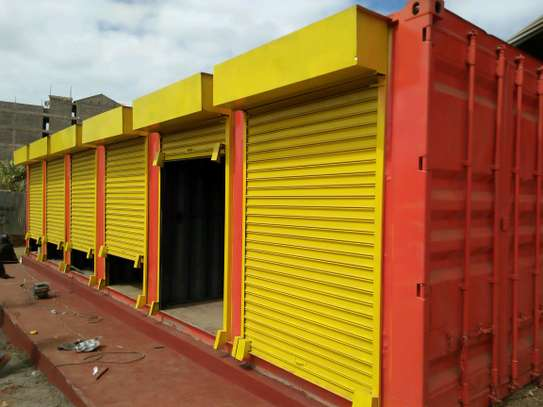 40ft Container stalls and shops image 1