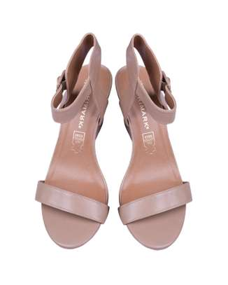 Nude Wedge Shoe