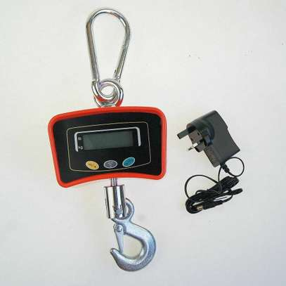 500KG 0.5 Ton Industrial Digital Hang Crane Scale image 1
