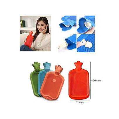 Hot Water Bottle - Thick High Density Rubber Hot Water Bag image 1