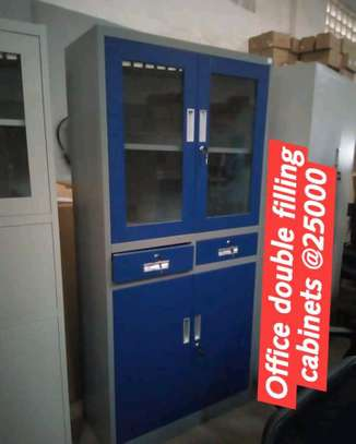 Office double filling cabinets image 1