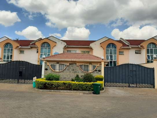 4 bedroom townhouse for rent in Langata Area image 1