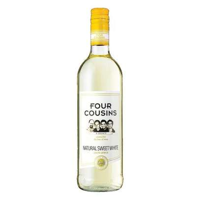 Four Cousins Natural Sweet White Wine - 500ml image 1