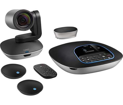 Logitech Group Video Conference Camera and Mic Bundle