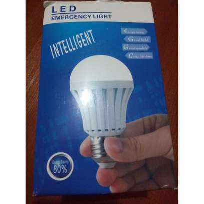 Rechargeable Intelligent Emergency LED Bulb - 12W image 1