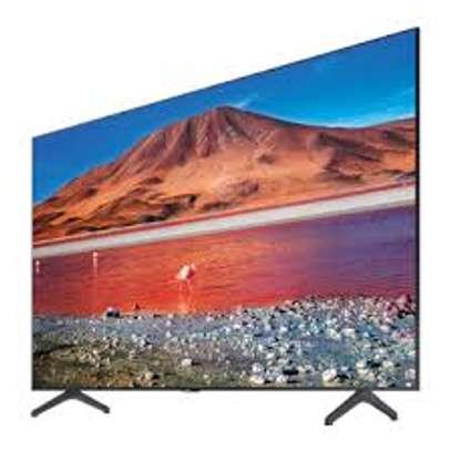 EEFA 50 inches Frameless Android UHD-4K Smart Digital TVs image 1