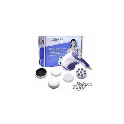 Relax & Spin Tone Electric Handheld Body & Muscle, Tissue Massager image 2