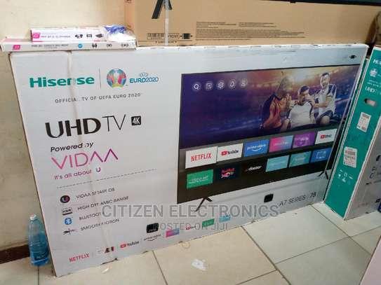 Hisense 75'' FRAMELESS 4K ULTRA HD SMART TV-NEW image 1