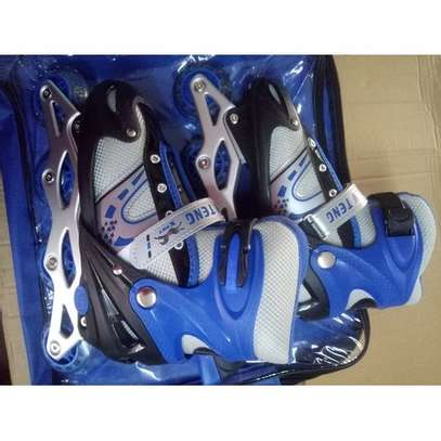 Skating Shoes-Blue image 1