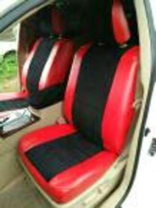 Blended colours car seat covers image 1