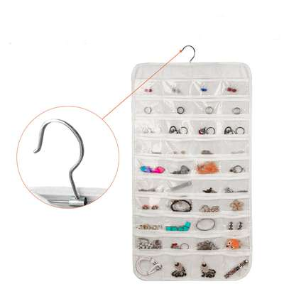 80-pocket Hanging Jewelry Organizer image 3