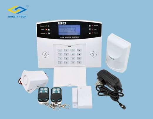 Wireless GSM Home Burglar Alarm System image 1