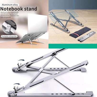 Portable laptop/ ipad0 tablet stand image 1