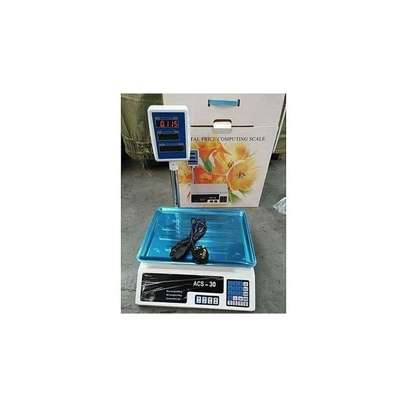 Generic Digital Weighing Scale (ACS-30 ) - Up To 30Kgs image 1