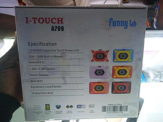 I-Touch Kids Tablets 16gb 2gb ram-itouch A709 model-Wifi only-7 inch image 2