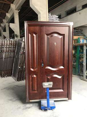 Steel Security Doors(1 1/2){Double Door} image 3