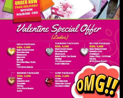 valentine's gift packages