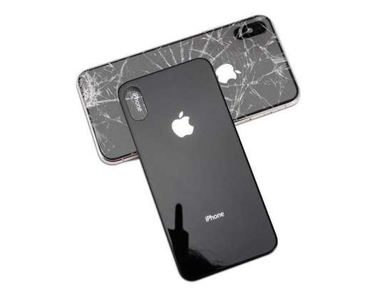 Battery Cover Replacement Back Door Housing Case For iPhone X/Xs image 1