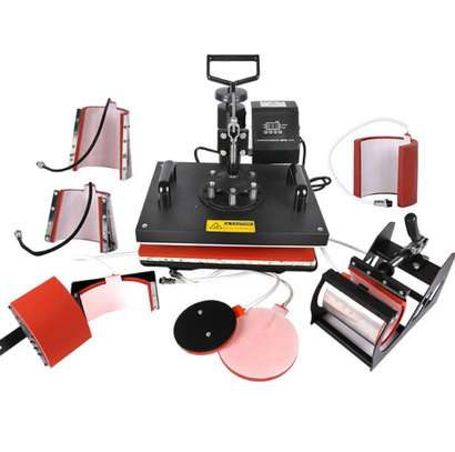 8 in 1 Combo Heat Press Machine good value image 1