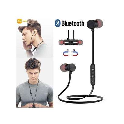 SPORTS Wireless Bluetooth Headphones In-Ear Noise Reduction Earphone With Microphone image 1