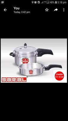 Combo Pressure cooker/5litre saral Pressure cooker/Pressure cooker image 4