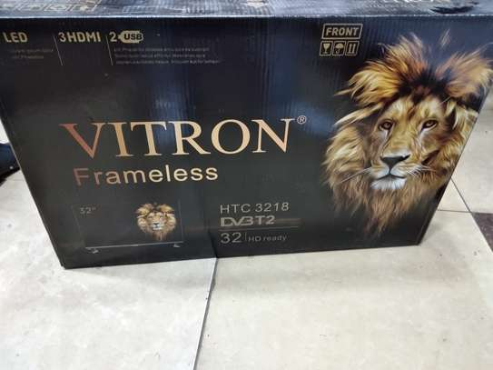 Vitron 32 inch digital TV FRAMELESS image 1